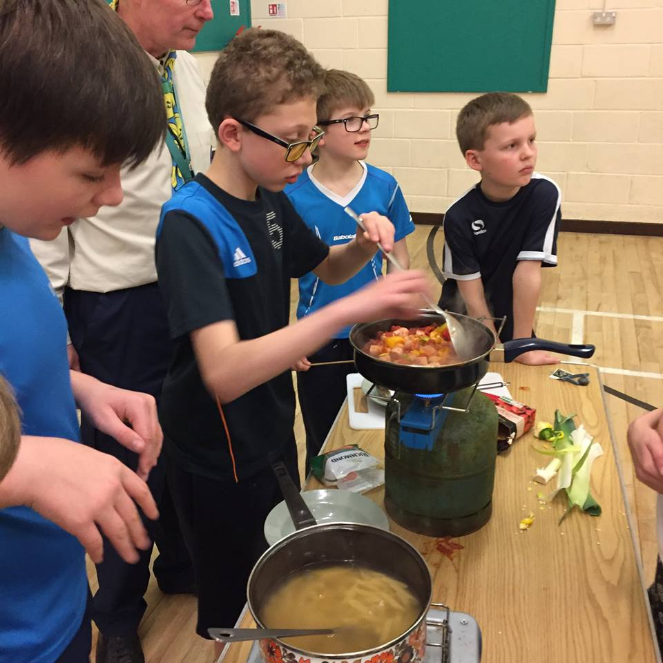 Scouts Ready Steady Cook